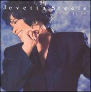 Front Cover Album Jevetta Steele - Here It Is