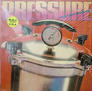 Album  Cover Pressure - Pressure on L.A.INT.RECORDS Records from 1979