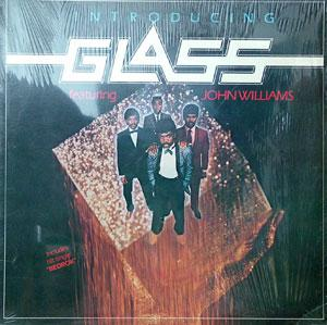 Album  Cover Glass - Introducing Glass on HCRC Records from 1983