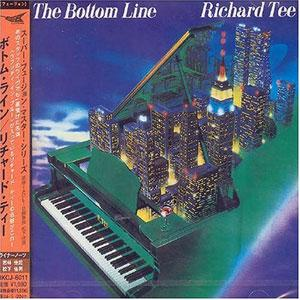 Album  Cover Richard Tee - The Bottom Line on KING Records from 1985