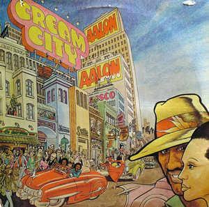Album  Cover Aalon - Cream City on ARISTA Records from 1977