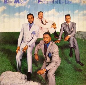 Album  Cover Blue Magic - From Out Of The Blue on COLUMBIA Records from 1989