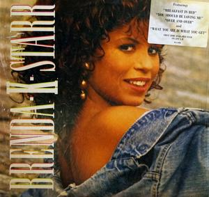 Album  Cover Brenda K. Starr - Brenda K. Starr on MCA Records from 1987