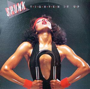 Album  Cover Spunk - Tighten It Up on GOLD COAST Records from 1981
