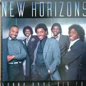 Album  Cover New Horizons - Gonna Have Big Fun on COLUMBIA Records from 1984
