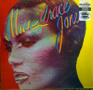 Album  Cover Grace Jones - Muse on ISLAND Records from 1979