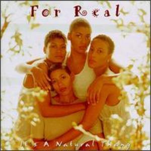 Album  Cover For Real - It's A Natural Thang on  Records from 1994