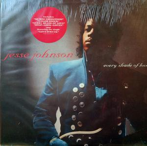 Album  Cover Jesse Johnson - Every Shade Of Love on A&M Records from 1988