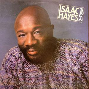 Album  Cover Isaac Hayes - U-turn on ATLANTIC Records from 1986