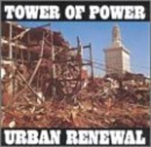Album  Cover Tower Of Power - Urban Renewal on WARNER BROS. Records from 1975