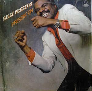 Album  Cover Billy Preston - Pressin' On on MOTOWN Records from 1982