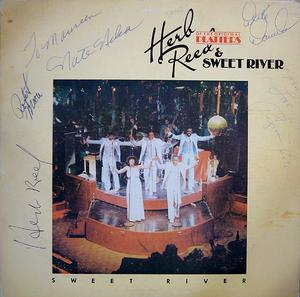 Album  Cover Herb Reed And Sweet River - Sweet River on PVK Records from 1977