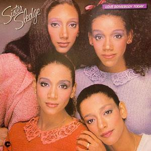 Album  Cover Sister Sledge - Love Somebody Today on COTILLION Records from 1980