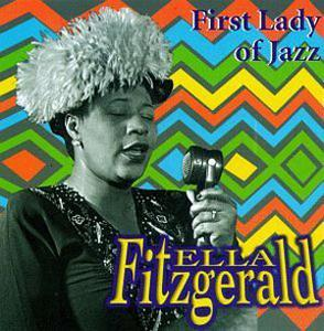 Album  Cover Ella Fitzgerald - First Lady Of Jazz on LEADER MUSIC Records from 1996