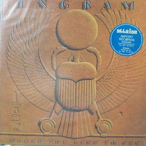 Album  Cover Ingram - Would You Like To Fly on MIRAGE Records from 1983