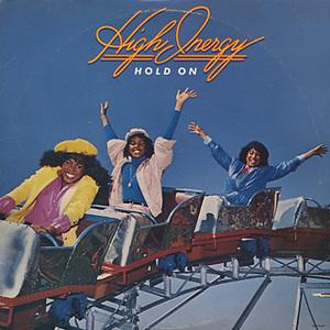 Front Cover Album High Inergy - Hold On