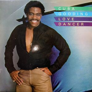 Front Cover Album Cuba Gooding - Love Dancer