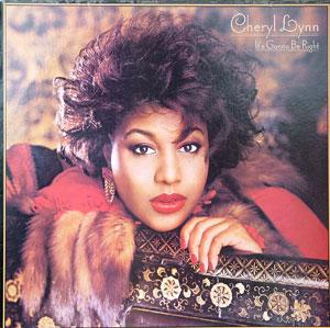 Album  Cover Cheryl Lynn - It's Gonna Be Right on COLUMBIA Records from 1985
