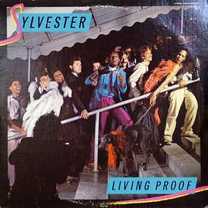 Album  Cover Sylvester - Living Proof on FANTASY Records from 1979