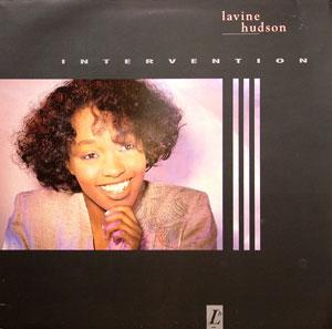 Album  Cover Lavine Hudson - Intervention on VIRGIN Records from 1988