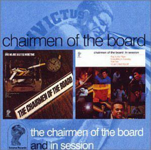 Album  Cover Chairmen Of The Board - In Session on INVICTUS Records from 1970