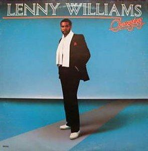 Album  Cover Lenny Williams - Changing on ROCKSHIRE Records from 1987
