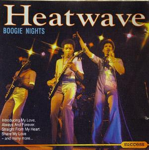 Album  Cover Heatwave - Boogie Nights on SUCCESS Records from 1984