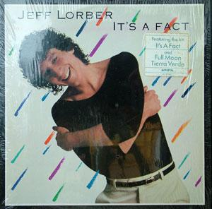 Front Cover Album Jeff Lorber - It's A Fact