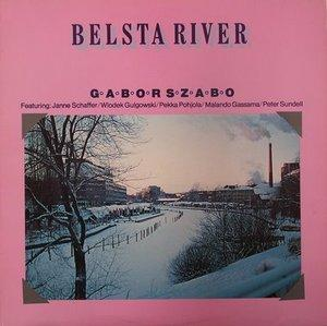 Album  Cover Gabor Szabo - Belsta River on FOUR LEAF Records from 1978
