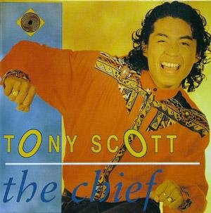 Album  Cover Tony Scott - The Chief on RHYTHM Records from 1989