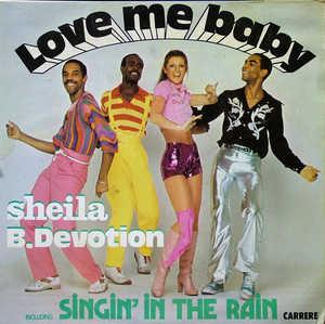 Album  Cover Sheila & Black Devotion - Singin' In The Rain on CASABLANCA RECORD & FILMWORKS Records from 1978