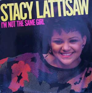 Album  Cover Stacy Lattisaw - I'm Not The Same Girl on COTILLION Records from 1985