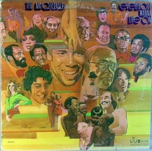 Front Cover Album The Masqueraders - Everybody Wanna Live On
