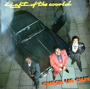 Album  Cover Light Of The World - Check Us Out on EMI Records from 1982