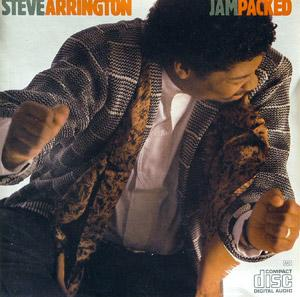 Album  Cover Steve Arrington - Jam Packed on EMI MANHATTAN Records from 1987