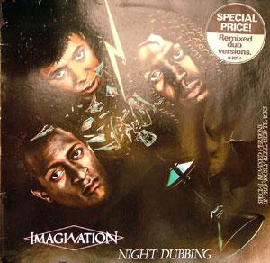 Album  Cover Imagination - Night Dubbing on  Records from 1983