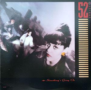 Album  Cover 52nd Street - Something's Going On on MCA Records from 1987
