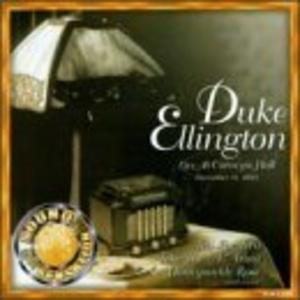 Album  Cover Duke Ellington - Live At Carnegie Hall on EMBER Records from 2000
