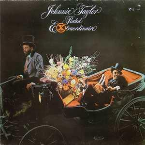Album  Cover Johnnie Taylor - Rated Extraordinaire on CBS Records from 1977