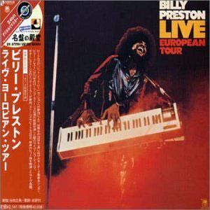 Album  Cover Billy Preston - Live European Tour on A&M Records from 1974