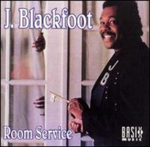 Album  Cover J Blackfoot - Room Service on BASIX Records from 1993