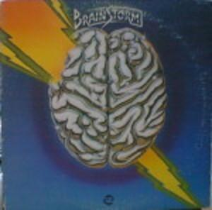 Album  Cover Brainstorm - Stormin' on RCA Records from 1977