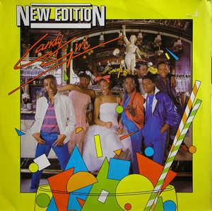 Album  Cover New Edition - Candy Girl on STREETWISE Records from 1983