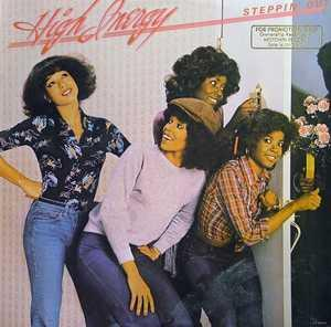 Album  Cover High Inergy - Steppin' Out on GORDY Records from 1978