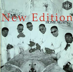 Front Cover Album New Edition - Home Again