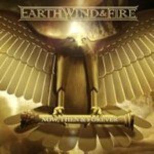 Album  Cover Earth Wind & Fire - Now, Then & Forever on LEGACY Records from 2013