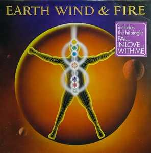Album  Cover Wind & Fire Earth - Powerlight on CBS Records from 1982