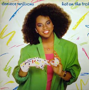 Front Cover Album Deniece Williams - Hot On The Trail