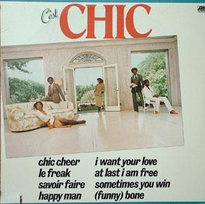 Album  Cover Chic - C'est Chic on ATLANTIC Records from 1978
