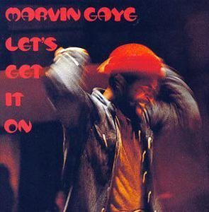 Album  Cover Marvin Gaye - Let's Get It On on TAMLA Records from 1973